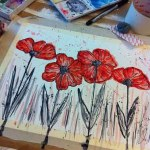Watercolor Poppy Painting Tutorial – Barks Blog