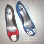 Doctor Who Heels – Doodle Craft
