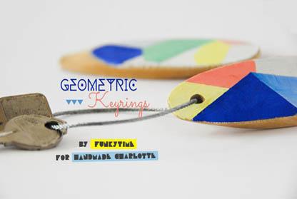 Geo Key Rings