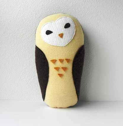 ThreeBadSeeds Owl Plush