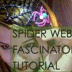 Spider Web Fascinator – Westsinister Abbey