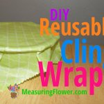 DIY – Oil Cloth Cling Wrap