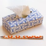 Origami Tissue Box Cover