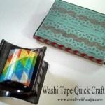 Washi Tape Quick Crafts – Creative Mind Khadija