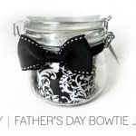 Father's Day Bowtie Jar DIY