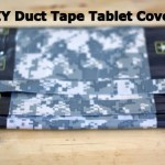 DIY Duct Tape Tablet Cover