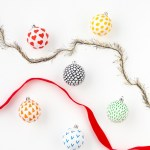 DIY Patterned Ornaments 6 Ways
