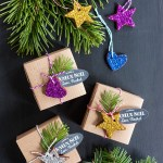 DIY: Glittered Cinnamon Ornaments