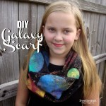 DIY Galaxy Infinity Scarf!