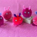 DIY: Pompom Love Bugs