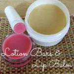 DIY Lotion Bars and Lip Balm Recipe