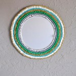 DIY Beaded Wall Mirror