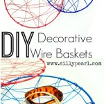 DIY Decorative Wire Basket
