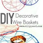 DIY Decorative Wire Basket