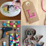 March DIY Challenge: Letters