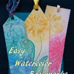 DIY Colorful Bookmarks Using Easy Watercolor Techniques