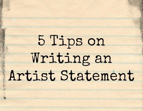 writing an artist statement for college An artist's statement is a written document that introduces you as an artist it explains why and how you make your art, along with other facts about you and your art.