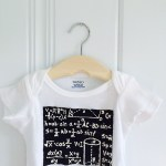 DIY equation onesie