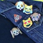 Emoji Polo and Pins DIY!