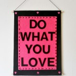 Easy DIY Quote Wall Hanging