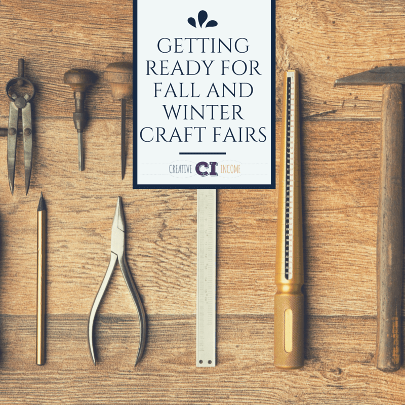 Getting ready for fall and winter craft fairs indie crafts for Getting ready for fall