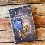 DIY Space Gift Wrap