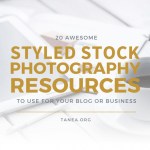 Blog Resource- 20 Awesome Styled Stock Photography Resources