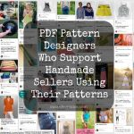 Pattern Designers Who Allow You To Sell Your Work Using Their Patterns