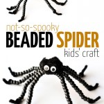 DIY Easy Beaded Spider