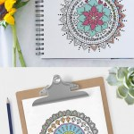 Free Printable Mandala Colouring Pages