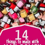 14 Nail Polish Crafts