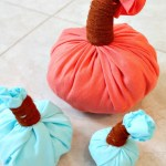 How to Make Pumpkins from Old T-Shirts