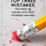 The Top 3 Facebook Mistakes That Hurt Your Indie Business