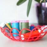 Grab Your Glue Guns! DIY Hot Glue Bowl Tutorial