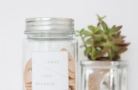 "Make an ""I Love You Because"" Jar"