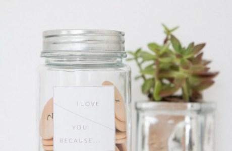 "Make an ""I Love You Because"" Jar"