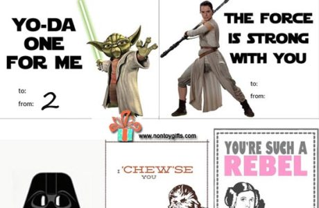 30 Free Star Wars Valentines to Print