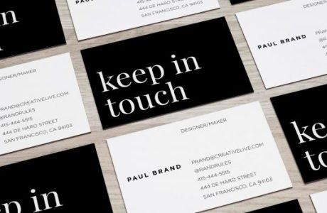 A Crafter's Guide to Handing Out Business Cards