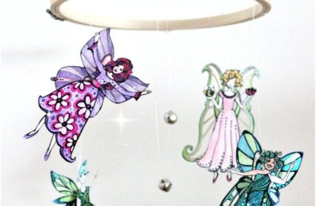 Coloring Page Fairy Mobile Tutorial