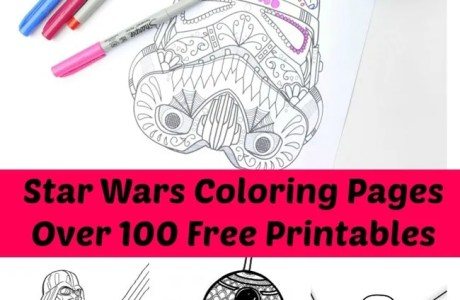 100+ Free Printable Star Wars Coloring Pages for Adults and Kids