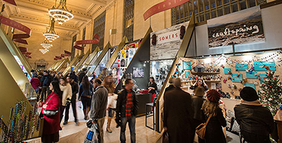 Apply to the Grand Central Terminal Holiday Fair