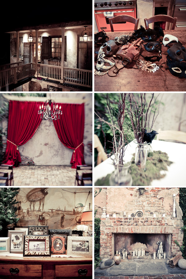 Magical New Orleans Wedding via Indie Wed blog