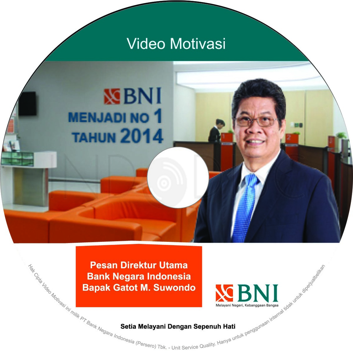 Label CD Video Sambutan Dirut_OKE_curved