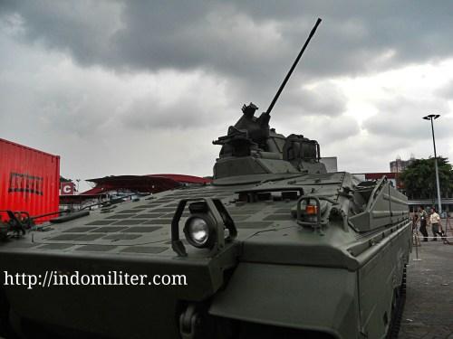 Demo statis Marder 1A3 saat Indo Defence 2012
