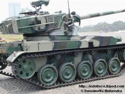 AMX-13 : Tank Tempur Utama TNI-AD (2/6)