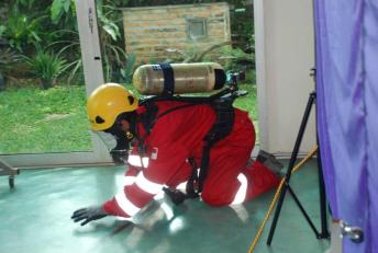 Confined Space Rescue Training 8