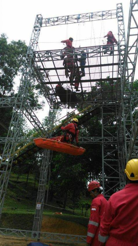 High Angle Rescue Training 6