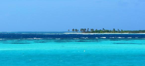 Widok na wyspę Petit Tabac