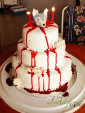 "Game of Thrones ""Red Wedding"" Cake"