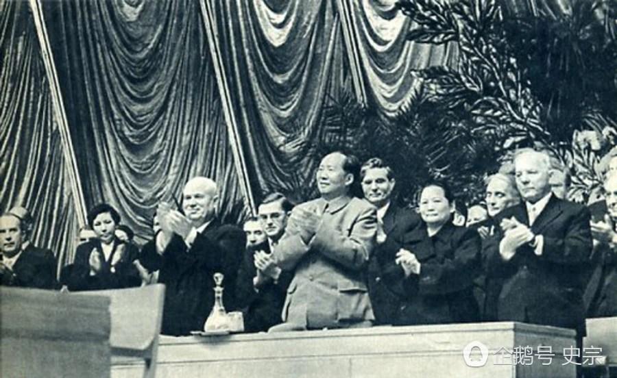 毛主席訪問蘇聯老照片:看了你就明白主席為什麼偉大了